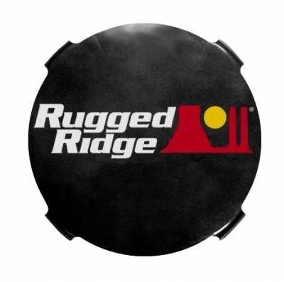 Rugged Ridge - Rugged Ridge 15210.51 Hid Off Road Light Cover 7-Inch Smoked Pair