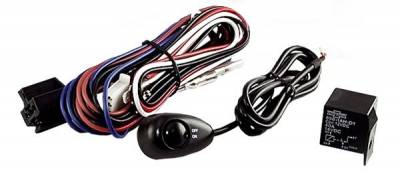 Rugged Ridge - Rugged Ridge 15210.62 Off Road Light Installation Harness Pair Of Lights