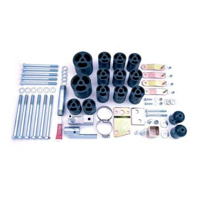 Rugged Ridge - Rugged Ridge 18303.11 Body Lift Kit 3-Inch 1997-2006 Wrangler All Includes Six Speed Upgrade Kit