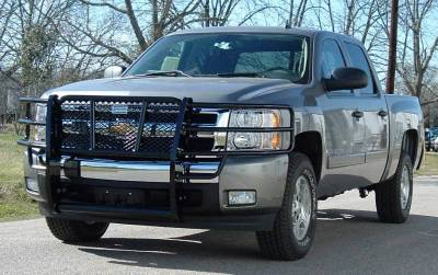 Ranch Hand - Ranch Hand GGC08HBL1 Black Legend Grille Guard Chevy 1500 (2007-2013)