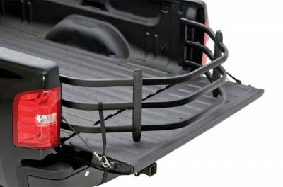 AMP Research - AMP Research 74804-01A Black Bed X-tender HD All Standard Bed Trucks