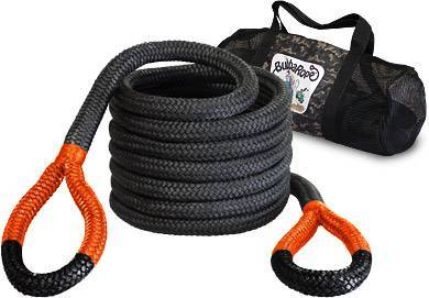 "Bubba Rope - Bubba Rope 176720ORG 1-1/4"" x 30' Big Bubba Rope 52300Lb Breaking Strength with Standard Orange Eye"
