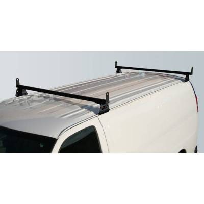 Vantech - Vantech H3076W 2 Bar with A03 Side supports Aluminum White Ford Econoline (1975-1991)
