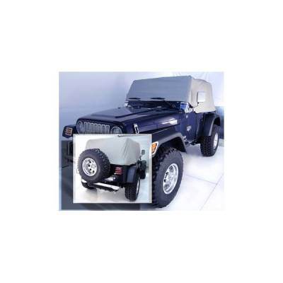Rugged Ridge - Rugged Ridge 13316.09 Water Resistant Vinyl Cab Cover 1992-2006 Jeep Wrangler Gray