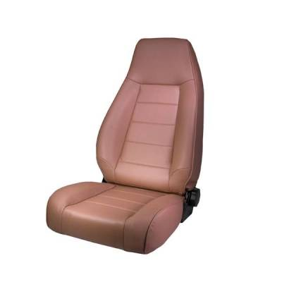 Rugged Ridge - Rugged Ridge 13402.04 Front Seat Factory Replacement With Recliner Tan 1976-2002 Jeep CJ & Wrangler