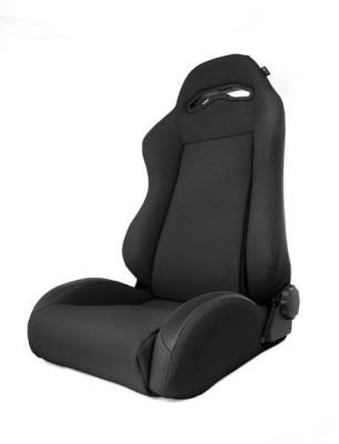 Rugged Ridge - Rugged Ridge 13415.15 Front Seat XHD Sierra Seat With Recliner Black Denim Jeep Wrangler TJ 1997-2006