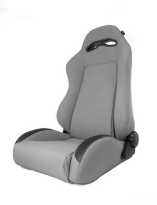 Rugged Ridge - Rugged Ridge 13447.09 Front Seat XHD Sierra Seat With Recliner Gray Jeep Cherokee XJ 1984-2001