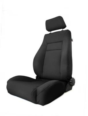Rugged Ridge - Rugged Ridge 13414.01 Front Seat XHD Ultra Seat With Recliner Black Jeep Wrangler TJ 1997-2006