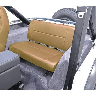 Rugged Ridge - Rugged Ridge 13461.04 Standard Rear Seat Tan 1955-1995 Jeep CJ & Wrangler