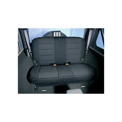 Rugged Ridge - Rugged Ridge 13261.01 Neoprene Seat Cover Rear Black 1997-2002 Wrangler