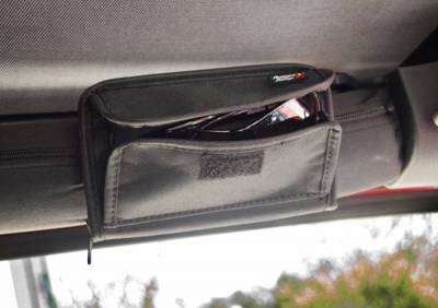 Rugged Ridge - Rugged Ridge 12101.52 Roll Bar Sunglass Holder Black Universal Application
