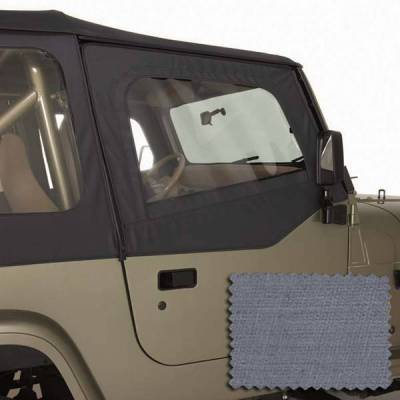 Rugged Ridge - Rugged Ridge 13716.09 Door Skins Pair 1988-1995 Gray
