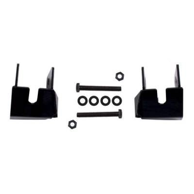 "Rugged Ridge - Rugged Ridge 18003.36 Control Arm Skid Plates Rear Black Jeep Wrangler Jeep Wrangler JK 2007-2012 Pair Bolt On Application ""No Drill"""
