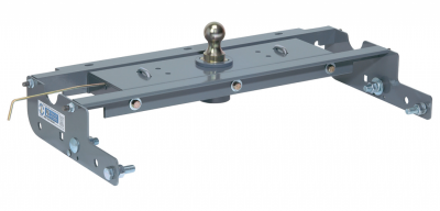 B&W Hitches - B&W 1067 Turnover Ball Gooseneck Hitch Chevy/GMC 1 Ton New Body Style with 1 bed crossmember over axle 2007-2010