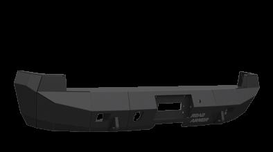 Road Armor - Road Armor 37900B Rear Stealth Bumper GMC Sierra 1500 2007-2013