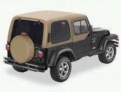 Bestop - Bestop 41508-04 Jeep Hard Top