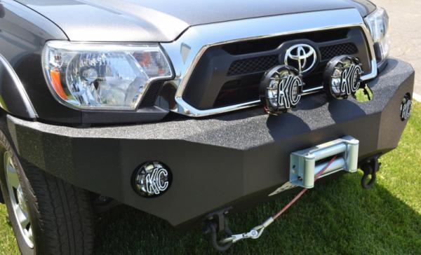 Body Armor - Body Armor TC-19336 Front Winch Bumper Toyota Tacoma 2012-2015