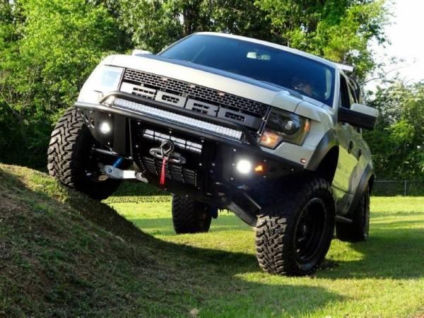 Addictive Desert Designs - ADD F012932450103 Stealth Front Bumper Ford Raptor 2010-2014