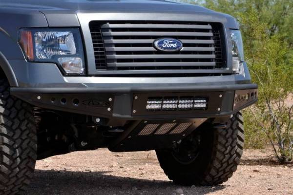 Addictive Desert Designs - ADD F052001250103 Non-Winch Venom Front Bumper Ford F-150 2009-2014