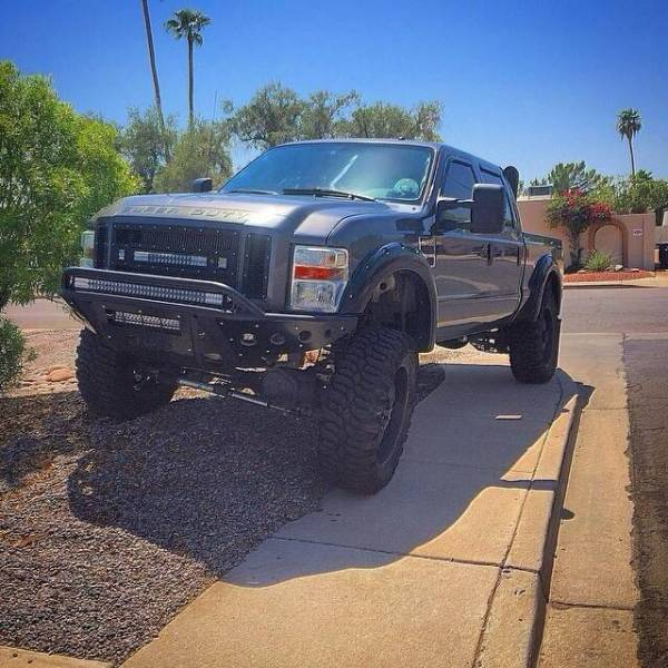 Addictive Desert Designs - ADD F073372400103 Stealth Front Bumper Ford F250/F350 2008-2010