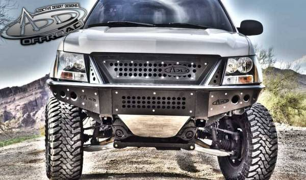 Addictive Desert Designs - ADD F1503452580103 Stealth Front Bumper with Upper Grille Chevy Tahoe / Surburban / Avalanche 2007-2013