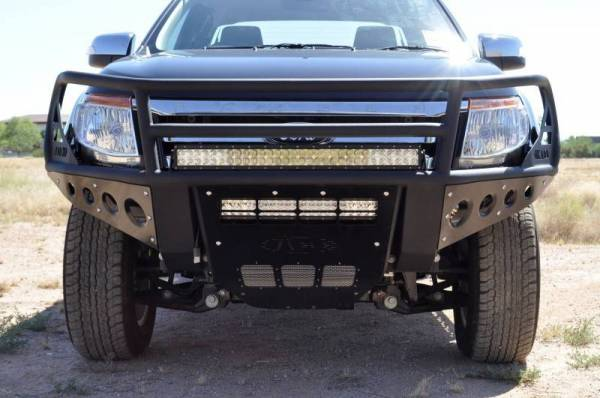 Addictive Desert Designs - ADD F252662650103 Rancher Front Bumper Ford Ranger T6 2011-2013