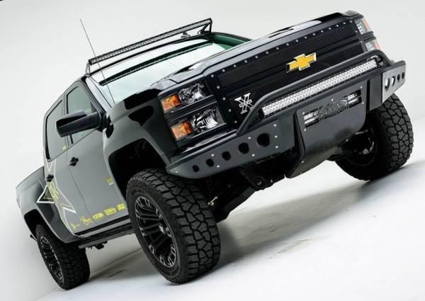 Addictive Desert Designs - ADD F282892680103 Stealth Front Bumper Chevy Silverado 1500 2014-2015