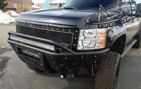 Addictive Desert Designs - ADD F292972480103 Stealth Front Bumper Chevy 2500/3500 2011-2014