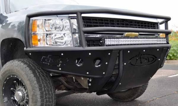 Addictive Desert Designs - ADD F312562680103 Winch Rancher Front Bumper Chevy 2500/3500 2007-2013