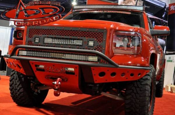 Addictive Desert Designs - ADD F422932680103 Stealth Front Bumper GMC Sierra 1500 2014-2015