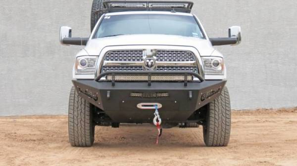 Addictive Desert Designs - ADD F517355000103 Winch Honey Badger Front Bumper Dodge Ram 2500/3500 2010-2018