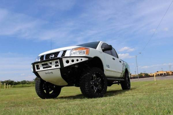Addictive Desert Designs - ADD F902942390103 Stealth Front Bumper Nissan Titan 2004-2013