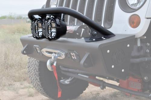 "Addictive Desert Designs - ADD F9513010101NA Top Hoop for 6"" Lights Jeep Wrangler JK 2007-2017"