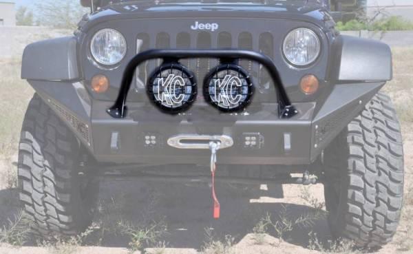 """Addictive Desert Designs - ADD F9513710001NA Stealth Fighter Top Hoop for 8"""" Lights Jeep Wrangler JK 2007-2017"""