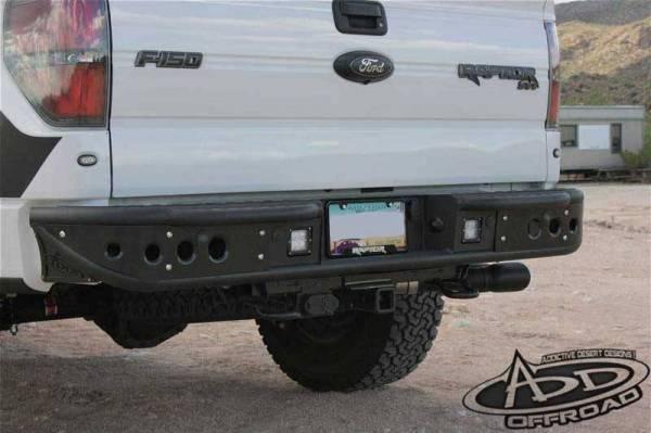 Addictive Desert Designs - ADD R012251280103 Venom Rear Bumper Ford Ecoboost F150 2011-2014