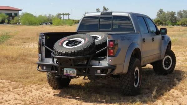 Addictive Desert Designs - ADD R0149012801NA Race Series Rear Bumper Ford Ecoboost F150 2011-2014