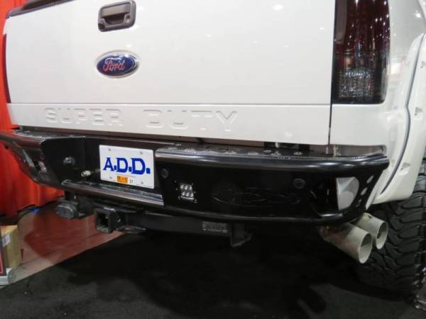 Addictive Desert Designs - ADD R0922912801NA Dimple Rear Bumper with Sensors Ford Ford F250/F350 1999-2016