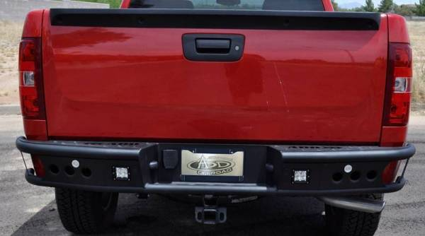 "Addictive Desert Designs - ADD R4123012801NA Dimple ""R"" Rear Bumper GMC Sierra 1500 2007-2013"