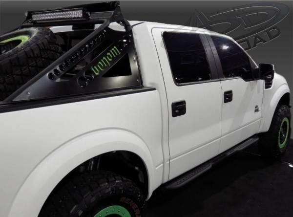 Addictive Desert Designs - ADD S0122027101NA Venom Side Steps Ford Ecoboost F150 2011-2014