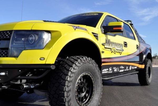 "Addictive Desert Designs - ADD S0148527101NA Race Series ""R"" Side Steps Ford Ecoboost F150 2011-2014"