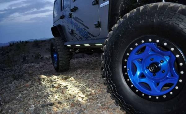 Addictive Desert Designs - ADD S9515215501NA Stealth Fighter Side Steps Jeep JK 2007-2018
