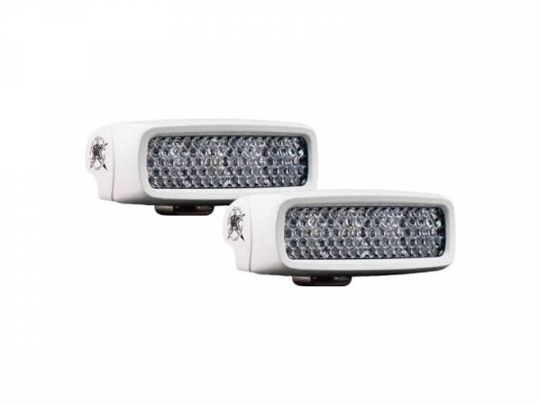 Rigid Industries - Rigid Industries 94550 SR-Q RGB Marine Diffused LED Light