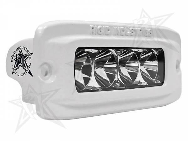 Rigid Industries - Rigid Industries 96411 M-Series SR-Q Single Row 20 Deg. Flood LED Light