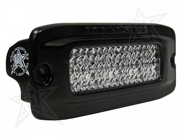 Rigid Industries - Rigid Industries 93551 SR-Q2-Series Single Row 60 Deg Diffusion LED Light