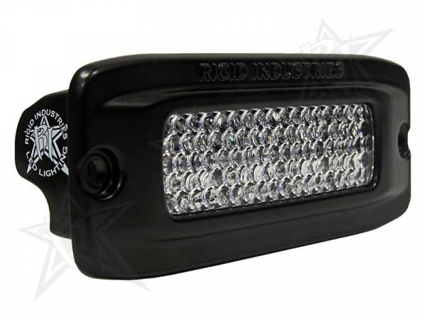 Rigid Industries - Rigid Industries 92551 SR-Q-Series Single Row 60 Deg. Diffusion LED Light