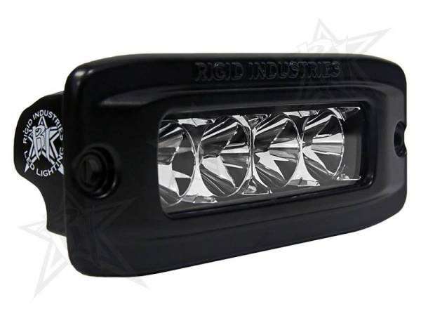 Rigid Industries - Rigid Industries 92511 SR-Q-Series Single Row 20 Deg. Flood LED Light