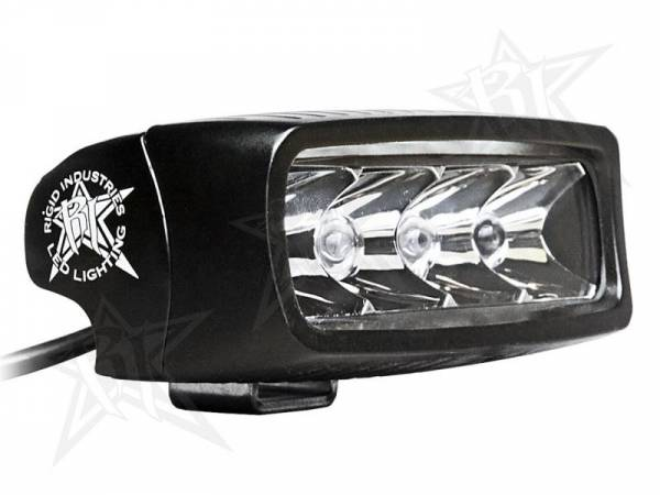 Rigid Industries - Rigid Industries 90521 SR-Q-Series Single Row 10 Deg. Spot LED Light