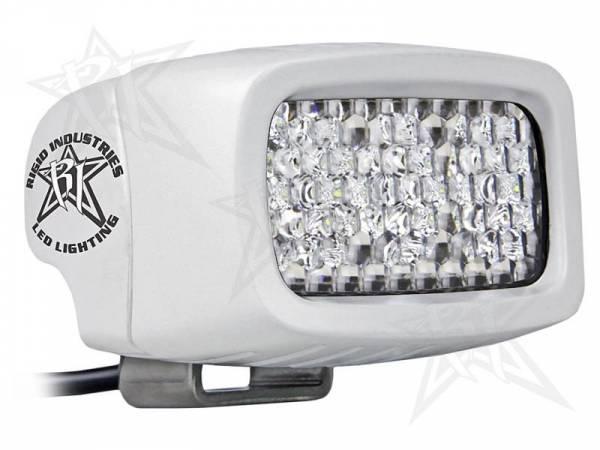 Rigid Industries - Rigid Industries 95251 M-Series SR-M2 Single Row Mini 60 Deg. Diffusion LED Light