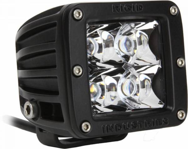 Rigid Industries - Rigid Industries 20124 D-Series Dually 10 Deg. Spot LED Light