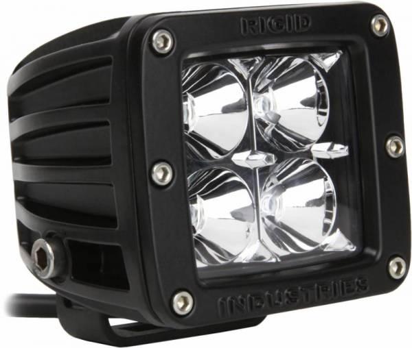 Rigid Industries - Rigid Industries 20115 D-Series Dually 20 Deg. Flood LED Light